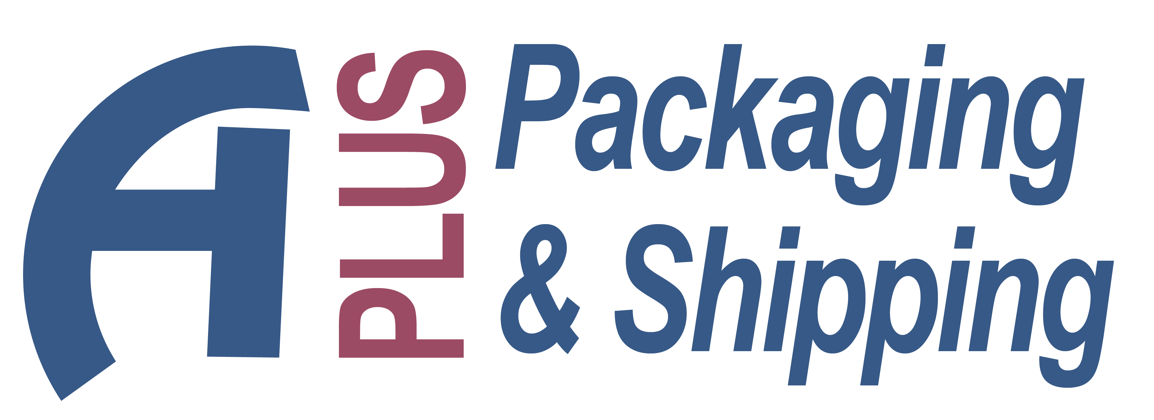 Aplus pack and ship logo